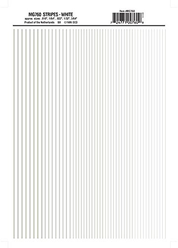 Woodland Scenics Stripes, White WOOMG760