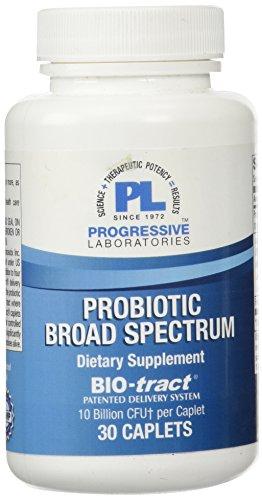 Progressive Labs Probiotic Broad Spectrum Supplement, 30 Count (Progressive Care Unit compare prices)