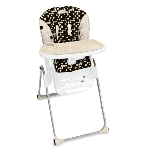 The First Years Family Time High Chair, Black and Khaki (Discontinued by Manufacturer) - 1