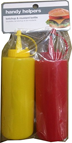 Handy Helpers Ketchup and Mustard Dispenser Set, 2 CT (Catsup Dispenser compare prices)