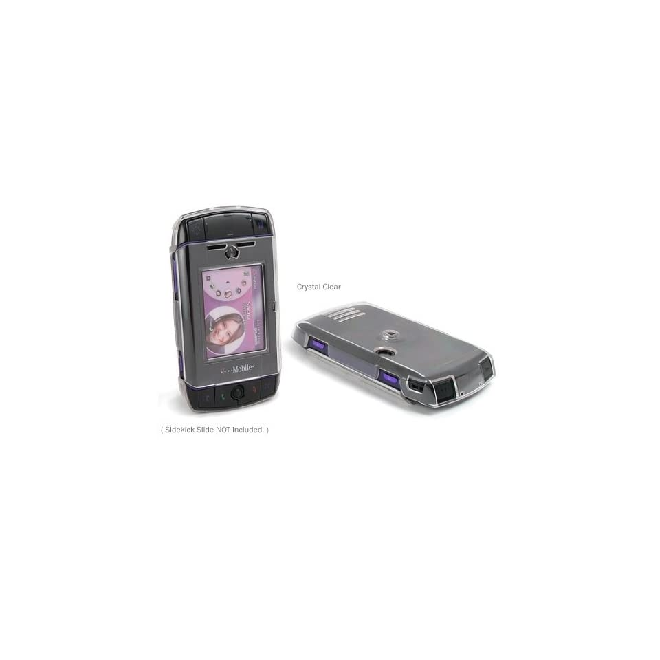 BoxWave Active T Mobile Sidekick Slide Case   The Clear