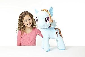 "My Little Pony 20"" Rainbow Dash Plush Toy, Blue/Multi"