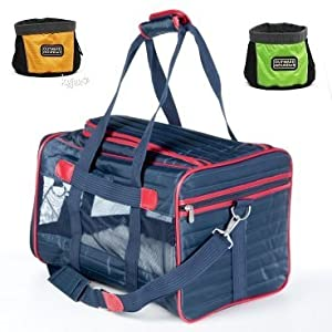Sherpa Original Deluxe Pet Carrier from Quaker Pet Group