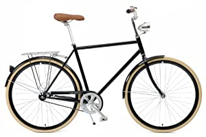 Critical Cycles Diamond Frame 1-speed Hybrid Urban Commuter Road Bicycle