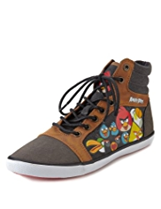 Angry Birds™ Lace Up High Top Trainers