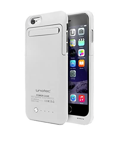 Unotec Funda Batería iPhone 6/6S Powercase Blanco