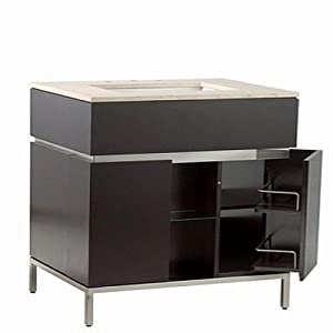 American Standard 9205.024.339 Studio Vanity, Contemporary Style, Espresso