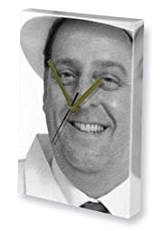 ANDREW DUNN - Canvas Clock (LARGE A3 - Signed by the Artist) #js001