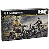イタレリItaleri U.S. Motorcycles 1:35 Scale Military Model Kit おもちゃ [並行輸入品]