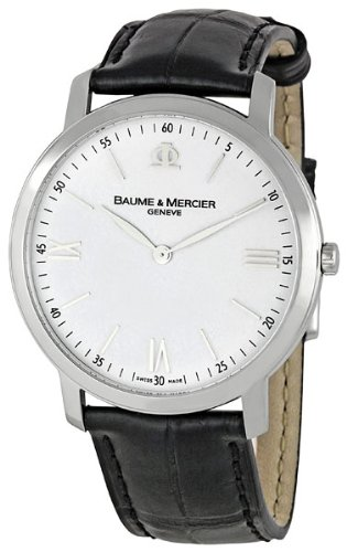 Baume & Mercier Men's 8849 Classima Executives White Dial Watch