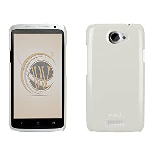 Pearl Back Cover for HTC One X, White