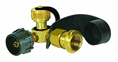 Camco 59133 RV Brass 90 Tee with 3 Ports
