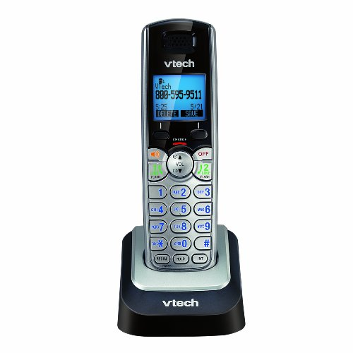 Vtech DECT 6.0 Digital 2-Line Accessory Handset with Caller ID and Handset Speakerphone (DS6101)