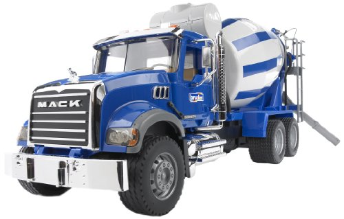 Bruder 02814 Mack Cement Mixer