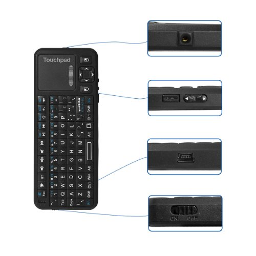 Buy Anker® Mini Bluetooth Wireless Handheld Keyboard with
