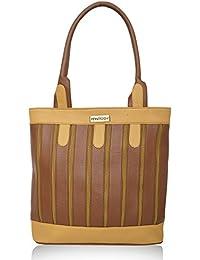 Fantosy Multi Chain Tan And Beige Handbag(FNB-380)