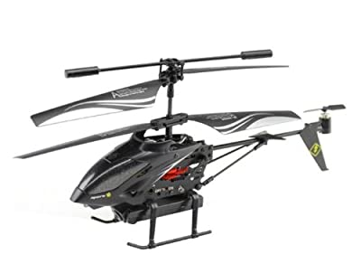 Wl S977 3.5 Ch Metal Radio Control Gyro Rc Helicopter with Video Camera from Wl