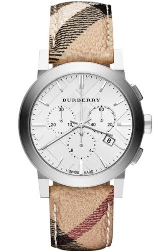 GENUINE BURBERRY Watch Male 'Swiss Made' Chronograph - bu9360