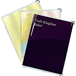 Clear Vinyl cover for \'God\'s Kingdom Rules,\' \'Jesus\' book and similar