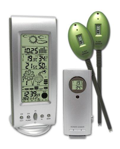 Inovalley-Gardener's Plant Sensor  &  Wireless Weather Station
