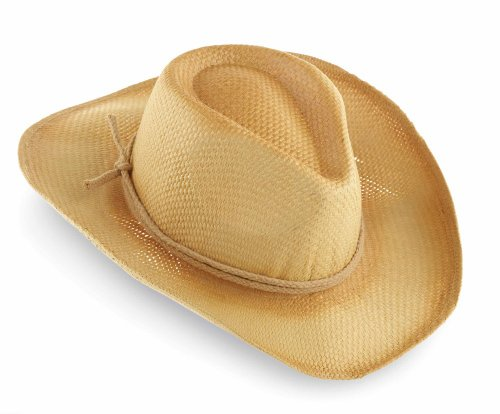 Mud Pie Baby-Boys Newborn Cowboy Hat, Tan, One Size