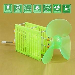 JJE DIY Dynamo Fan Novelty Toys