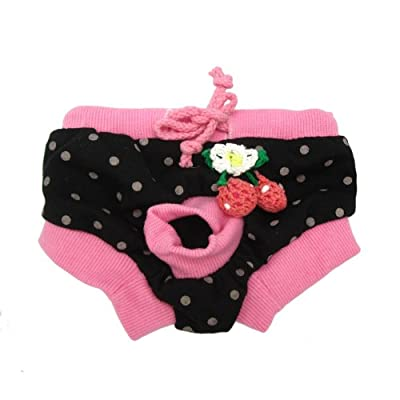 Alfie Pet Apparel - Zoe Diaper Dog Sanitary Pantie 5-Piece Set (for Girl Dogs)