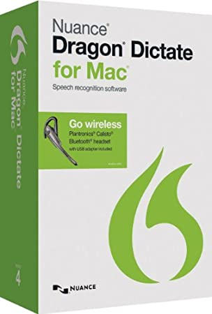 Dragon Dictate for Mac 4.0 - Wireless (Mac)