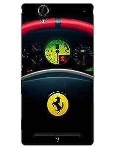 Ferrari Steering Wheel case for Sony Xperia T2