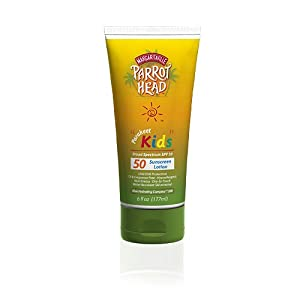 Parrot Head Sunscreen SPF 50 Kids Lotion 6 OZ
