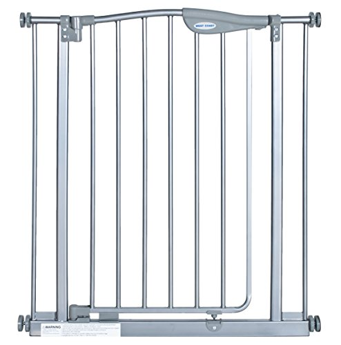 La Baby Self Closing Gate With 3 Extensions