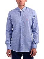 Polo Club Camisa Hombre Lombardia (Azul)