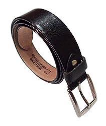Genuine Leather Belt For Men's Black color