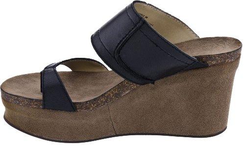 OTBT Women's Brookfield Wedge Sandal,New Black,8.5 M US
