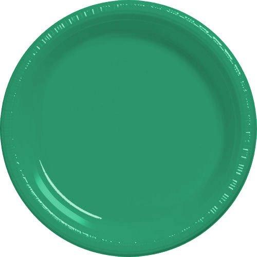 Festive Green Dessert Plates 20ct