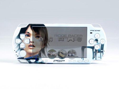 RIDGE RACER PSP Slim Dual Colored Skin Sticker PSP 2000
