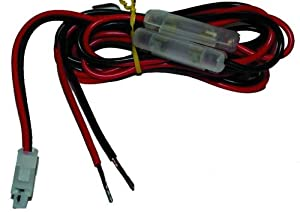 Replacement DC Power cord for VHF/UHF Amateur Mobile Radios