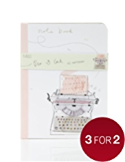 A5 Squared Paper Notebook - Pen & Ink Stationery Range