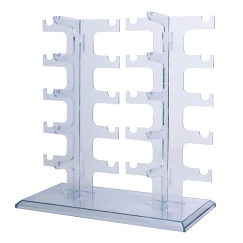 1 X Sunglasses Rack Sunglasses Holder Glasses Display Stand by TOOGOO(R) (Glasses Display compare prices)