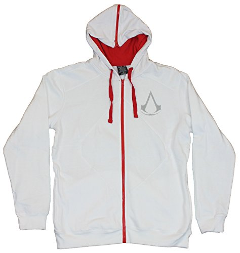 Assassin's Creed Mens Hoodie Sweatshirt -Classic Assassin's Costume Hoodie