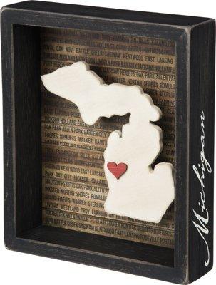Primitives By Kathy Box Sign - Michigan