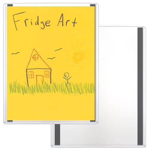 "Storesmart® - Refrigerator Art Magnetic Frames - Rigid Plastic - 25-Pack - 8 1/2"" X 11"" (Hpp812X11M-Ra-25) front-324324"