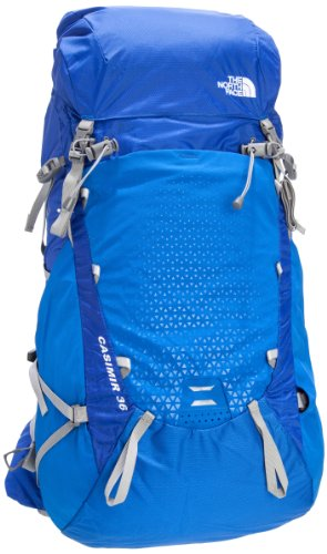 The North Face Casimir 36 Medium Hiking Backpack One Size Nautical Blue front-809547