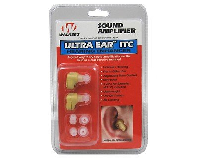 New - Walkers Game Ear Ultra Ear (ITC) Pair - UE2002