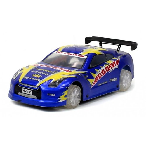 Nissan Gt-R Electric Rc Car 1:18 Super Speed W/ Light Up Wheels Rtr (Colors May Vary)