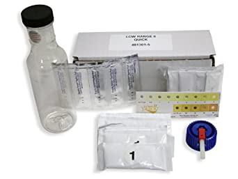 Industrial Test Systems Quick II 481301-5 Arsenic Low-Range for Water Quality Testing, 5 Tests, 12 Minutes Test Time