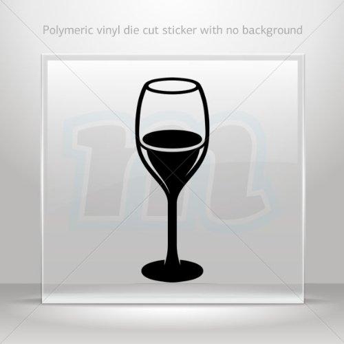 Sticker Decal Glass Of Wine Decoration Motorbike Bicycle Vehicle Atv Car Laptop Garage 0502 W8Zkx front-439951