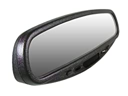 CIPA 36500 Wedge Base Auto Dimming Rearview Mirror with Compass, Temperature and Map Light