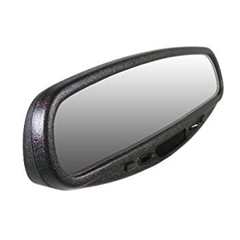 CIPA 36300 Wedge Base Auto Dimming Rearview Mirror with Compass and Map Light