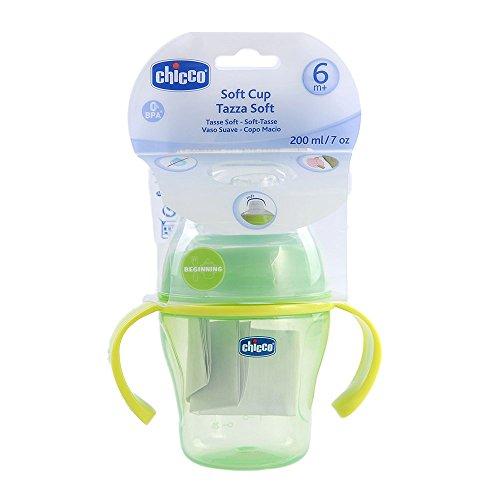 Chicco 068235 - Tazza soft 6 mesi+, Verde
